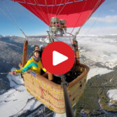In mongolfiera su Dobbiaco