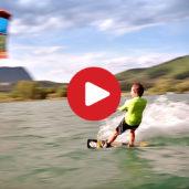 Pure: Kitesurfing at Lake Caldaro