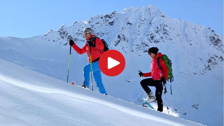Schneeschuh-Wandern richtig gemacht