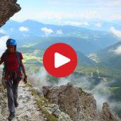 Klettersteig Santnerpass