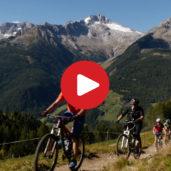 Biking in the Valle Aurina valley