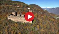 Castel Boymont in Appiano as seen from above