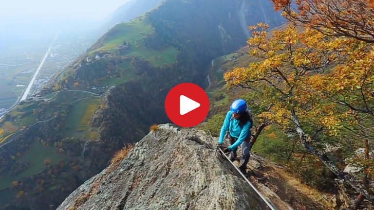 Klettersteig Hoachwool, Naturns