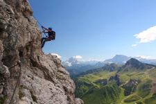 Klettersteig Cesare Piazzetta, Piz Boè