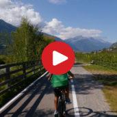 Mit Bahn & Rad durch den Vinschgau