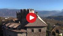 Riprese aeree di Castel Freudenstein ad Appiano