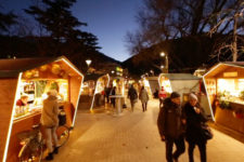 Atmosfera natalizia a Merano