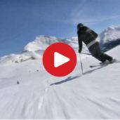 Racines skiing area