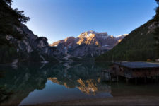 A night at the Lake Braies