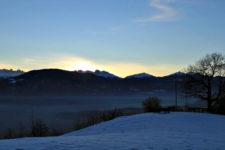 Sonnenaufgang über Eppan