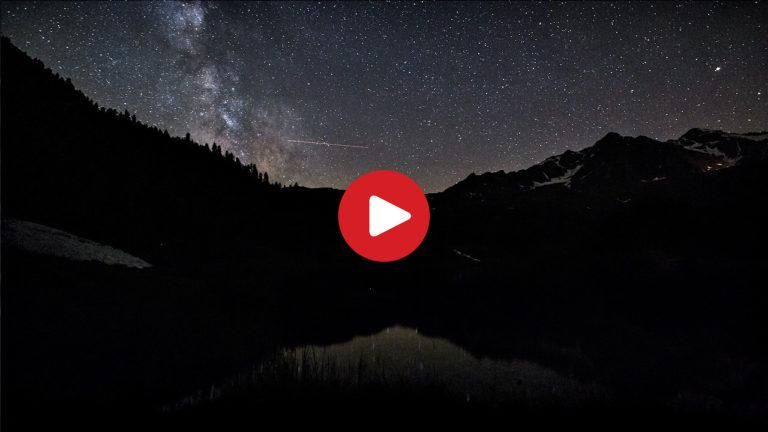 Eine Nacht am Fischersee in Ulten
