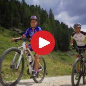 Biking in the Eggental Valley