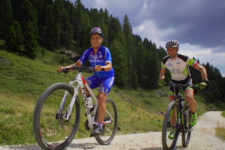 Biking in the Eggental Valley
