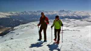 Schneeschuhwandern Seebodenspitze