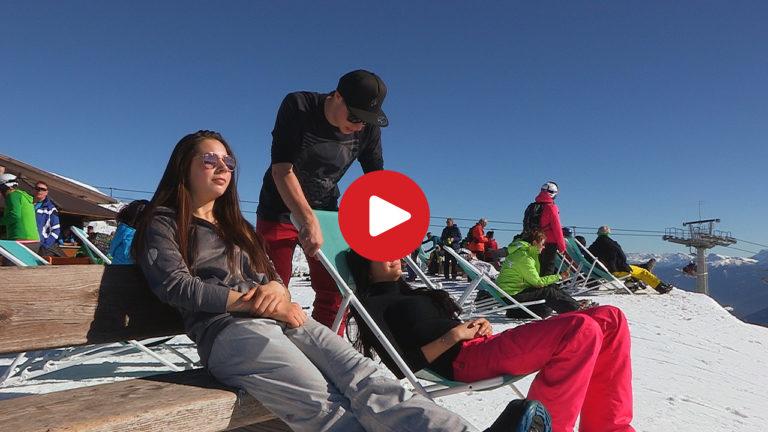 Ein perfekter Skitag am Gitschberg