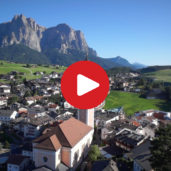 Castelrotto as seen from above