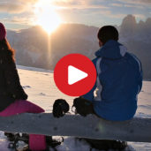 Pure: Snowshoeing in the Dolomites
