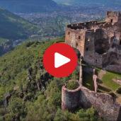 Castel Rafenstein visto dall'alto