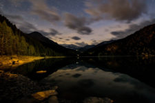 A night at the Zufritt reservoir