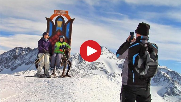 Stubai Glacier skiing area