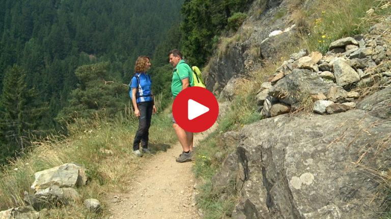 Wanderung Hans-Frieden-Weg Algund