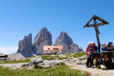 A hike to the Tre Cime di Lavaredo