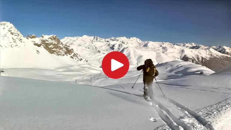 Skiing Area Passo Tonale