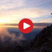Sunset hike to the Corno Bianco
