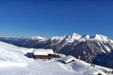 Inverno sulla Schwemmalm in Val d'Ultimo