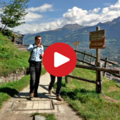 Wanderung am Marlinger Waalweg