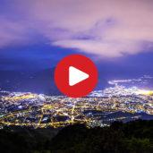 Un tramonto su Bolzano