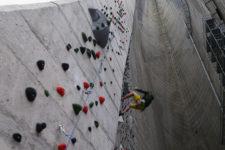 Klettern an der Marteller Staumauer