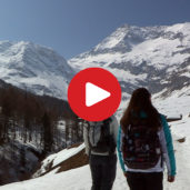 Winter hike in the Passiria Valley
