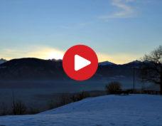 Sunrise on Appiano