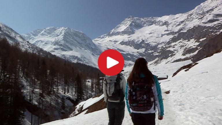 Winterwanderung im Passeiertal