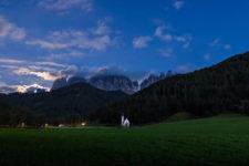 Sonnenuntergang in Villnöss