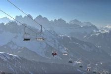 Plose-Bressanone skiing area