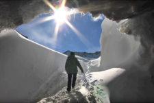 Val Senales skiing area