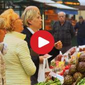 The Fruit Market of Bolzano