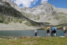 Al lago Ponte di Ghiaccio