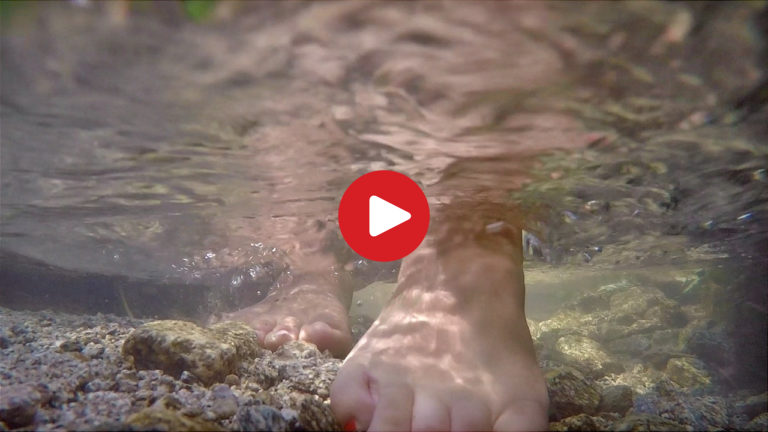 Idroterapia Kneipp in Val Pusteria