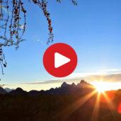 Sunrise on Primiero Valley