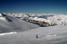 Il ghiacciaio di Hintertux