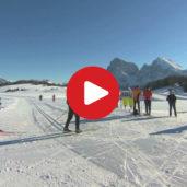 L'Alpe di Siusi d'inverno