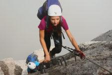 Klettersteig Marmolata Westgrat