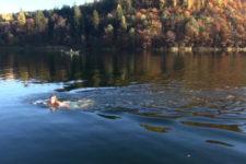 I laghi di Monticolo ripresi dall'alto