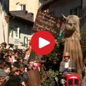 La sfilata dell'Egetmann a Termeno