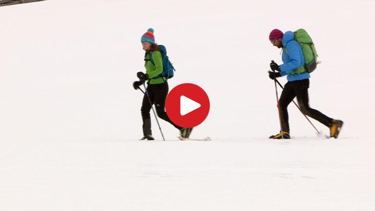 Schneeschuh-Wandern Rodenecker Alm