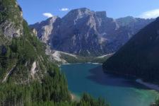 Pragser Wildsee aus der Luft