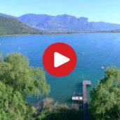 Kalterer See von oben